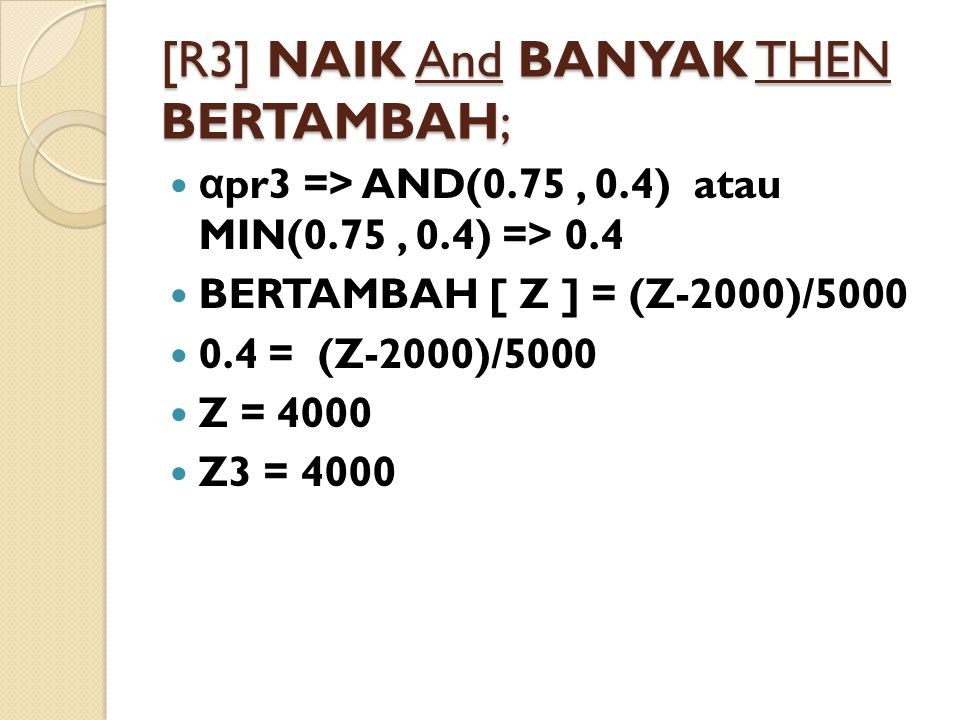 [R3] NAIK And BANYAK THEN BERTAMBAH;